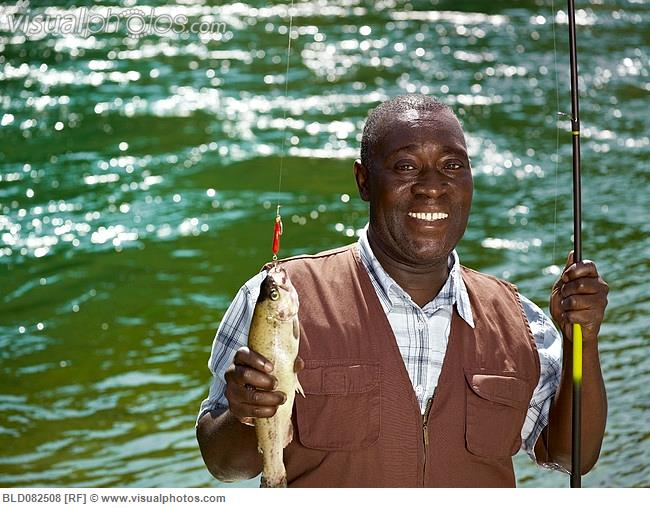 Teaching a person to fish without giving them access to for Videos of people fishing