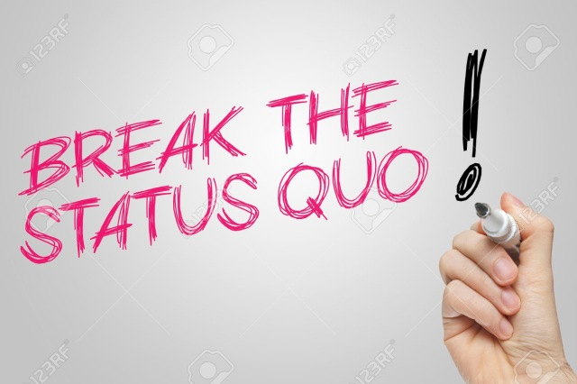 Hand writing break the status quo