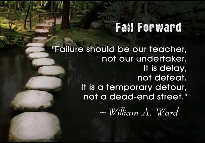 Fail Forward: What Did You Fail at Today? | rochemamabolo