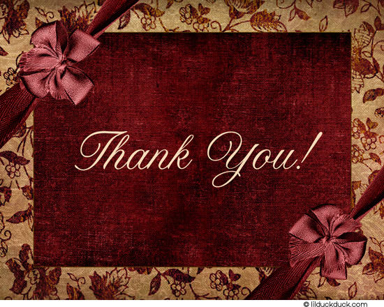 formal-ruby-tapestry-40th-wedding-anniversary-thank-you-card