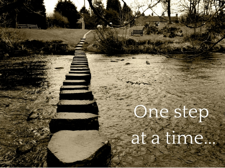 One-step-at-a-time...