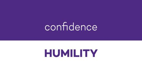 confidencehumility
