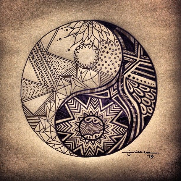 yinyang-tattoos-clipart-hippie-829815-6438209